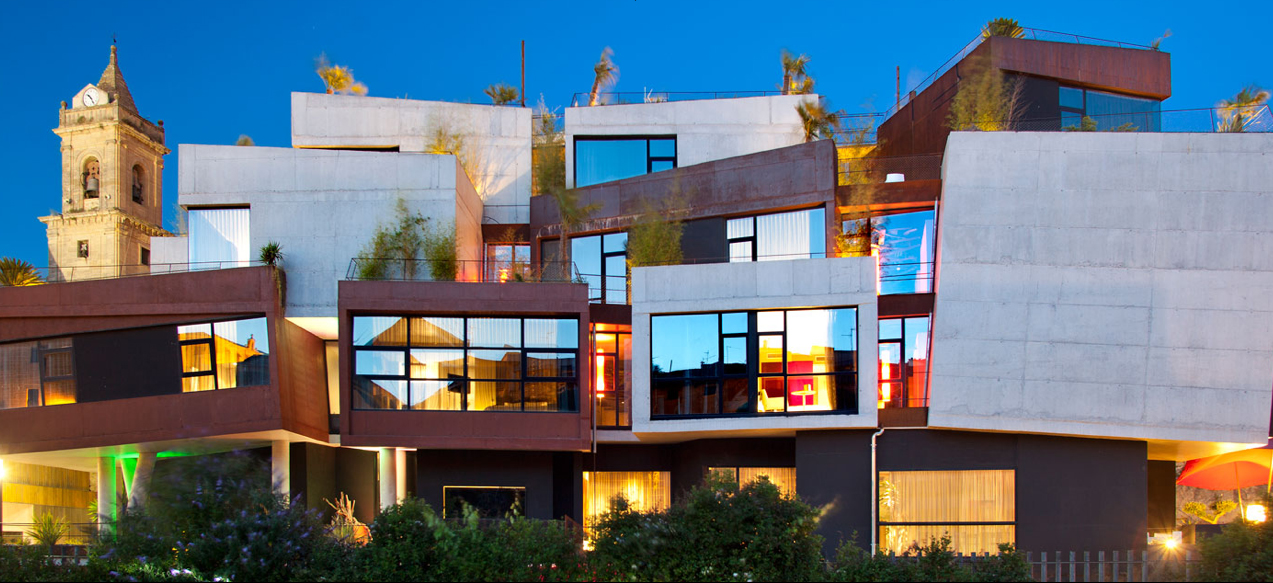 Hotel Viura Spain4-cube hotel