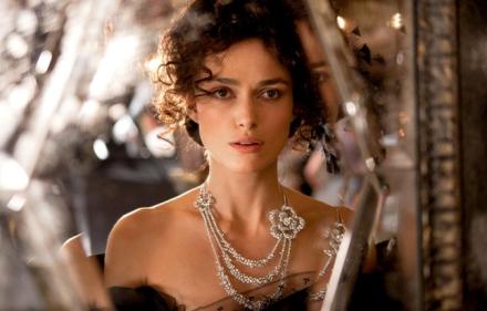 Keira Knightley e i diamanti