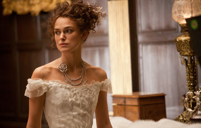 Keira Knightley e la collana Chanel