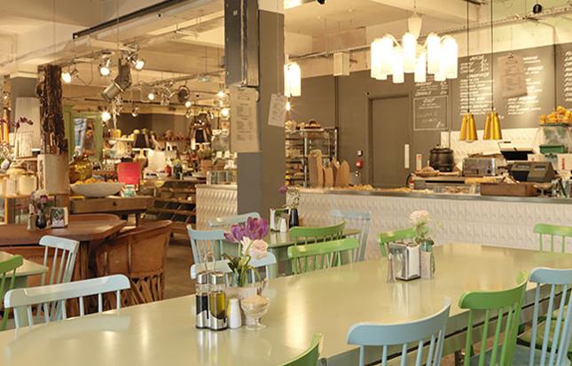 pitfield cafè-negozio londra