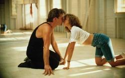 """""""Nessuno mette Baby nell'angolo!"""", e così Patrick Swayze dichiara il suo amore a Jennifer Grey in 'Dirty Dancing' di Emile Ardolino (1987)"""